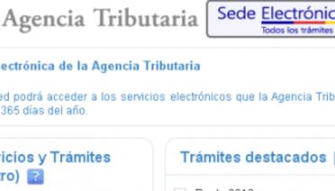 Desde que se inauguró la Sede Electrónica de la Agencia Tributaria