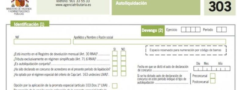 La Agencia Tributaria ha publicado el Proyecto de Orden que modifica el modelo de liquidación de IVA